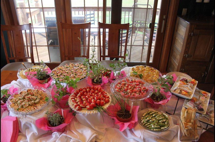 Wedding Shower - Ask about catering.
